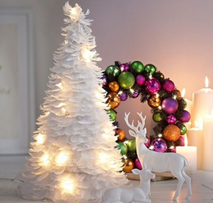 the hottest christmas tree trends in 2016 evonews - White Christmas Trees For Sale