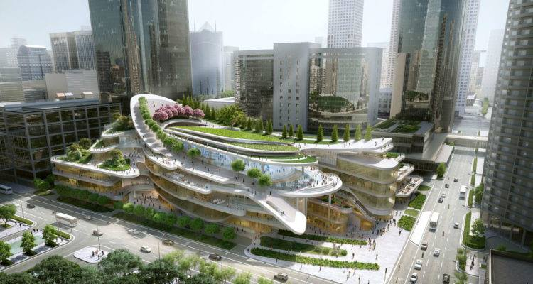 China World Trade Center Phase 3C, one of the most innovative civic centres in the world