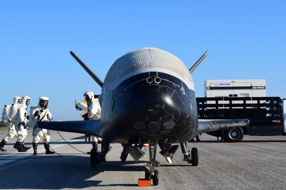 Us airforce's mysterious spacecraft