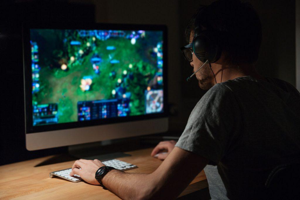 gamer violent video games