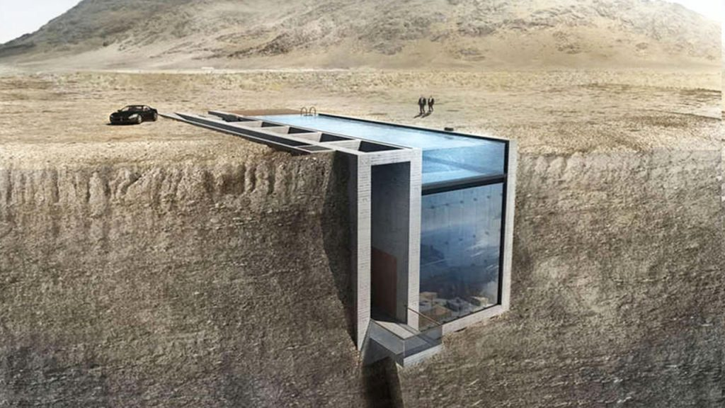 Houses That Could Help You Survive a Zombie Apocalypse | EvoNews on zombie architecture, zombie meme, survival house, zombie bunker, zombie home defense, sherlock holmes house, small home modern modular prefab house, small 800 sq ft. house, zombie proof island, zombie proof house, zombie log house, zombie proofing your home, zombie proof boat, post-apocalyptic house, granite house, viral nova house, doomsday house, anti-zombie house, zombies surrounding a house, 18th century fortified house,