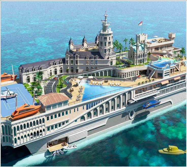 streets of manaco is the first billion dollar yacht evonews