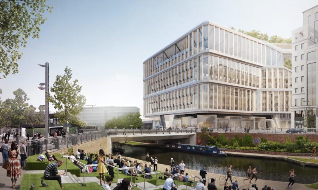 """Giant green """"landscraper"""" revealed for Google London HQ"""