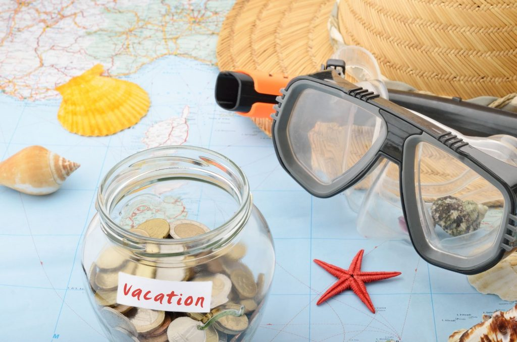 Who spends the most and who spends the least on vacations?