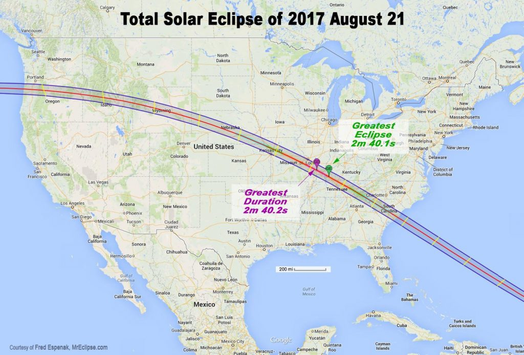 A guide for this year's total solar eclipse